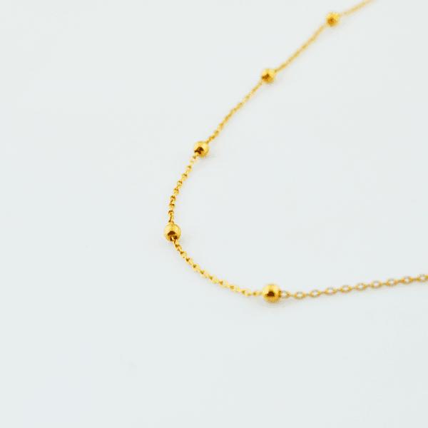 collar de oro Eliza