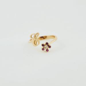 anillo de oro personalizado